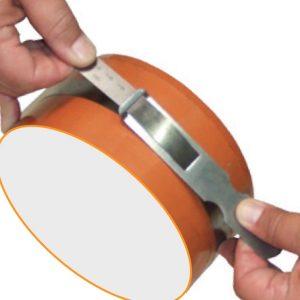 181601 Thước đo đường kính 20-300mm, inox, vạch chia khắc axit.