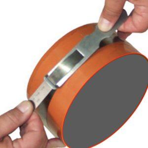 181906 thước đo đường kinh inox 75.0 - 91.0 inch, vạch chia khắc laser