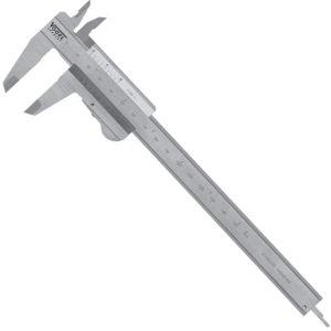 201021 Thước cặp cơ 150mm, khóa bằng nẫy, ngàm 40x16mm