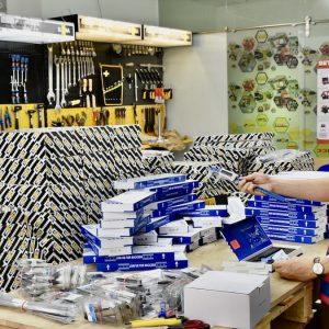 Lô hàng 50 thước kẹp điện tử 200mm Vogel Germany