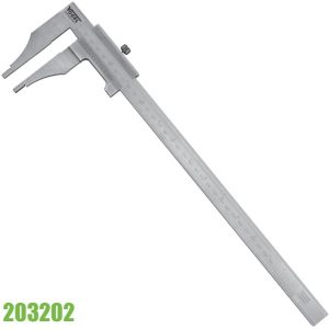 203202 Thước cặp cơ 250mm, không có vít chỉnh tinh, ngàm 80mm