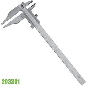 203301 Thước cặp cơ 200mm, không có vít tinh chỉnh, ngàm 65x32mm