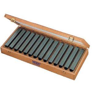 260600 Bộ căn mẫu song song 14 cặp bằng hợp kim, từ 14 đến 50mm