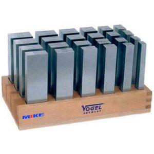 260602 bộ căn mẫu song song 24 cặp bằng hợp kim, từ 8 đến 42mm