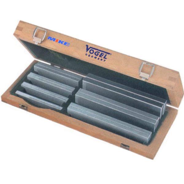 260611 Bộ căn mẫu song song 7 cặp , bằng hợp kim, 4 đến 40mm