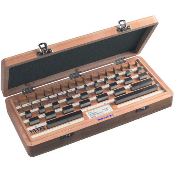 351001 Bộ căn mẫu chuẩn song song 32 chi tiết, chất liệu thép, cấp chính xác Class 0