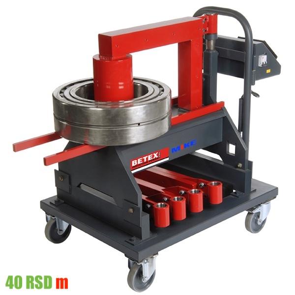 BETEX 40 RSDm phiên bản di động của máy gia nhiệt bạc đạn
