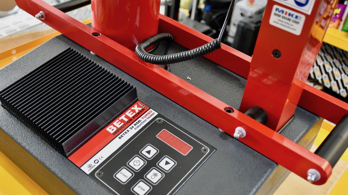 Máy gia nhiệt vòng bi BETEX 24 RSDi Turbo