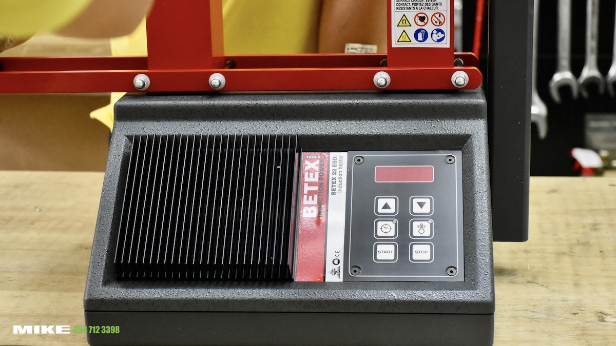 Máy giá nhiệt khớp nối 22 ESDI BETEX