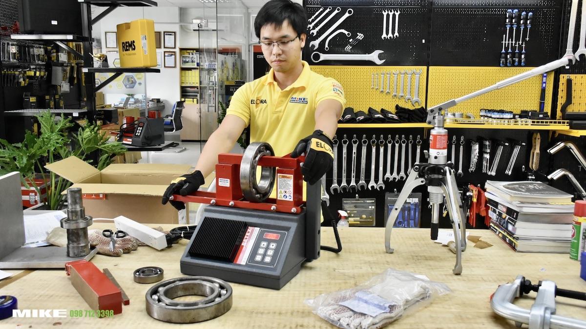 Hình ảnh máy giá nhiệt bạc đạn 22 ESDI BETEX tại showroom