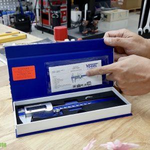 Hộp đựng thước kẹp chuyên dụng bằng carton có nam châm