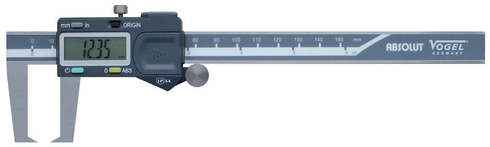 Thước kẹp điện tử đo ngoài Vogel 20109 Series.