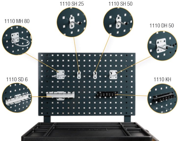 Panel phụ kiện cho tủ dụng cụ đồ nghề ELORA Germany