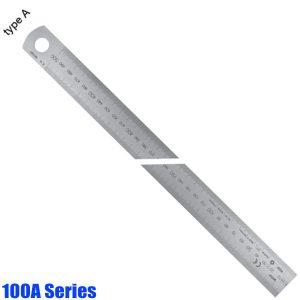 100A Series Thước lá inox khắc laser, type A, đọc từ trái sang phải