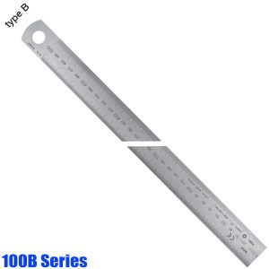 100B Series Thước lá inox khắc laser, type B, đọc từ trái sang phải