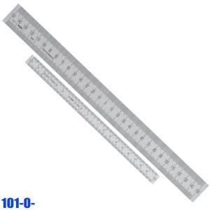 101-0- Series Thước inox có đơn vị 0 ở giữa tâm, vạch chia mm trên dưới