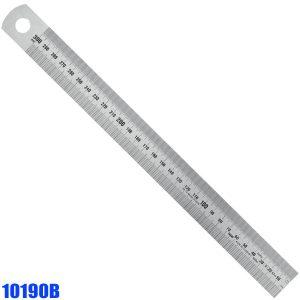 10190B Thuớc inox type B, bản rộng Semi Rigid, vạch chia mm trên dưới.