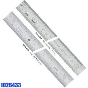 1026433 Series Thước lá có từ tính, vạch chia mm/inch trước sau