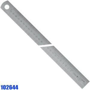 102644 Series Thước lá inox khắc laser, đọc từ trái sang phải, chuẩn BS 4372:1968