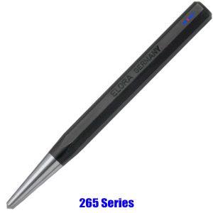 265 Series đột tâm, đục lấy tâm Center Punch có thân bát giác DIN 7250, Elora Germany