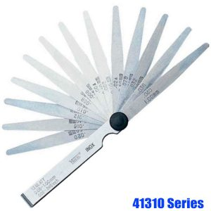 41310 Series Feeler Gauge Set, stainless steel, tolerance acc. to T2