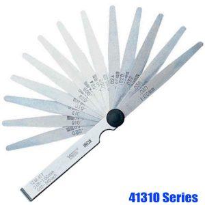 41310 Series Feeler Gauge Set, stainless steel, tolerance acc. to T2