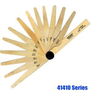 41410 Series Thước căn lá đồng, dài 100mm, 13-20 lá, chuẩn T2
