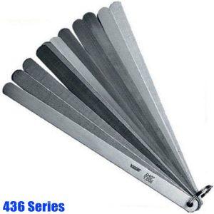 436 Series thước căn lá thép carbon, rộng 13 mm, chuẩn T2