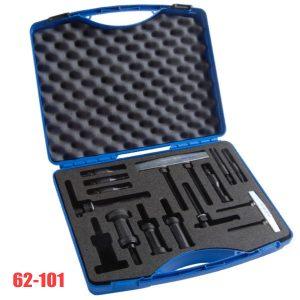 62-101 Bộ cảo trong 7 chi tiết, đường kính từ 5 đến 40mm.