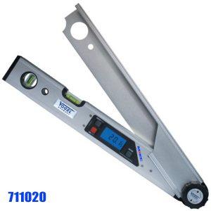 711020 Thước đo góc điện tử , 2 bọt thủy, độ chính xác ± 0.1o