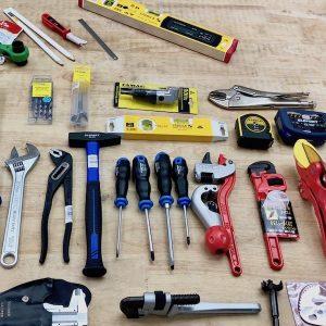 99 món đồ cần phải có trong sửa chữa điện nước của người thợ.