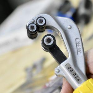 Khung của dao cắt ống đồng FTC bằn hợp kim nhôm