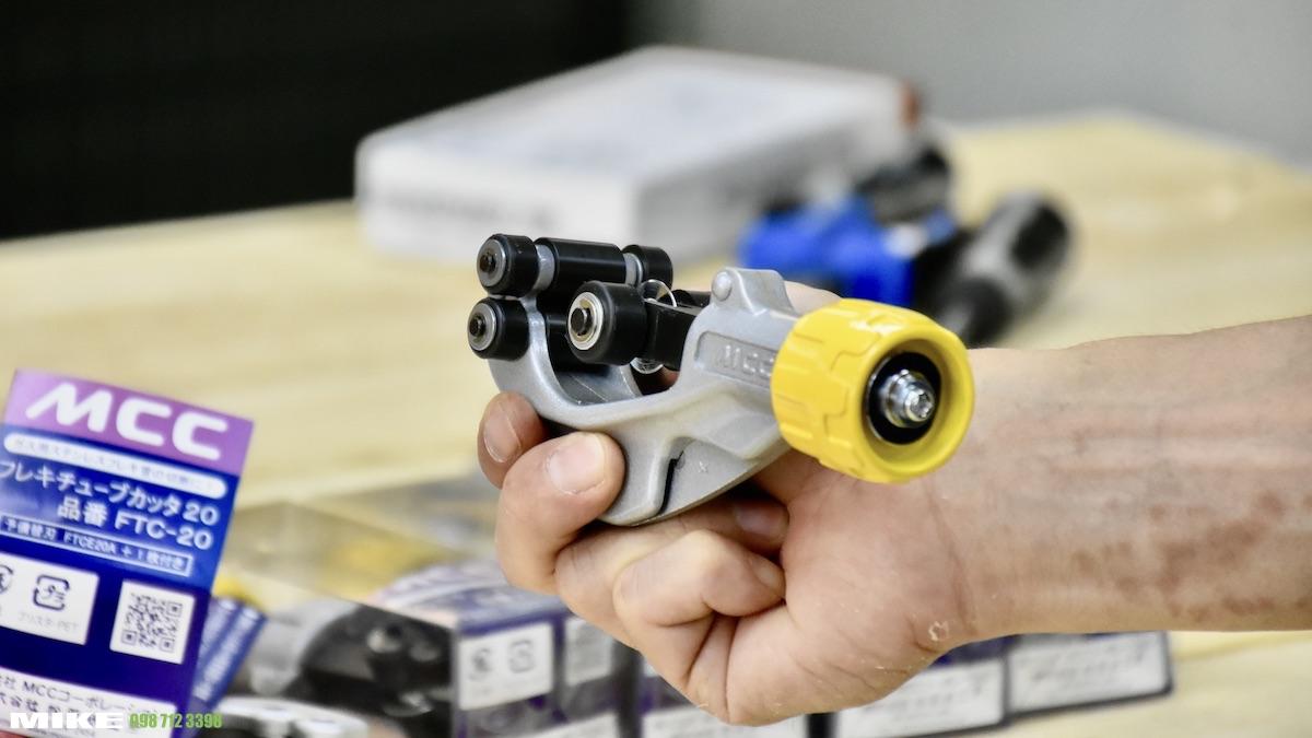 FTC dao cắt ống đồng và inox của MCC