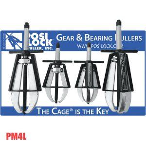 PM4L Bộ cảo vòng bi 2-3 chấu, tải trọng 6-20 tấn.