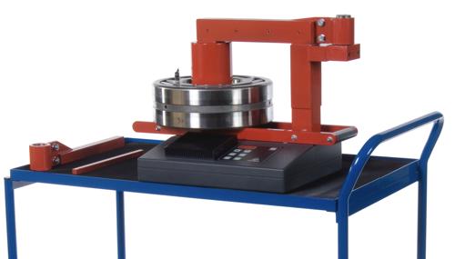 Mặt bàn xe đẩy Máy gia nhiệt vòng bi