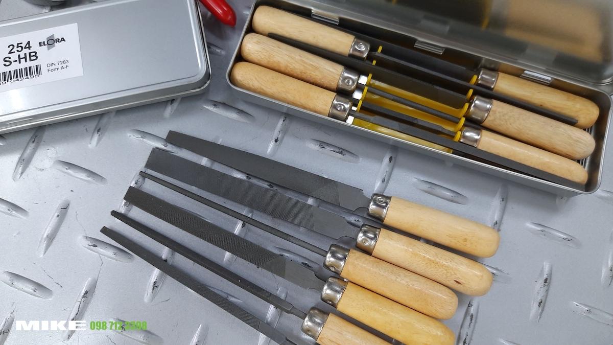 254S-Hb bộ dũa kim loại lưỡi mịn ELORA