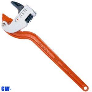 CW- Series Mỏ lết góc, cán thép, dài 250-450mm. Made in Japan.