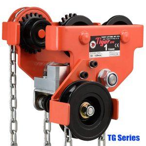 TG Series Kẹp dầm kiểu dùng bánh răng, tải trọng 0.5-30 tấn