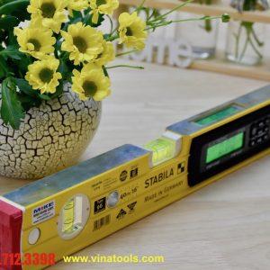 Nivo điện tử 40cm có 2 mặt đo, trên dưới, rộng, phay phẳng