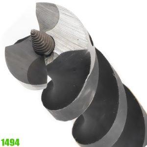 1494 Mũi khoan gỗ có đầu dẫn hướng thao lắp được, dài 460mm