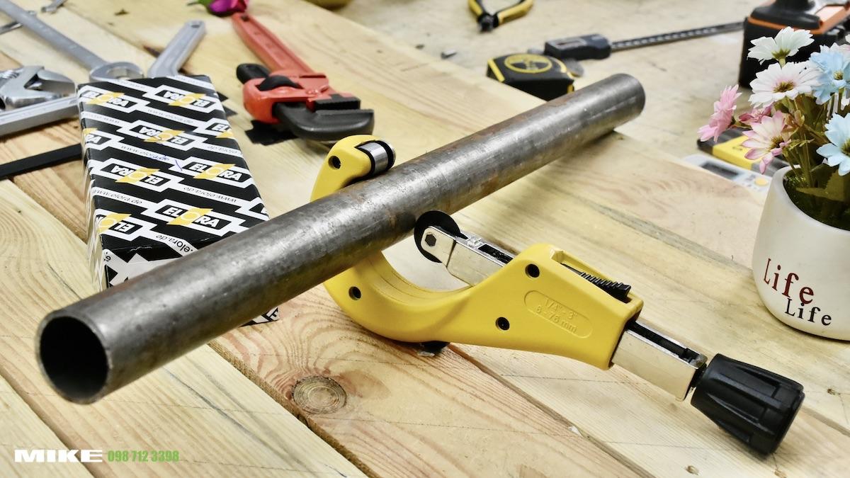 Dao cắt ống thép phi 76mm sản xuất tại Đức