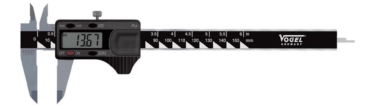 20216 Thước cặp điện tử 150-300mm, vật liệu bằng inox, sản xuất tại Đức