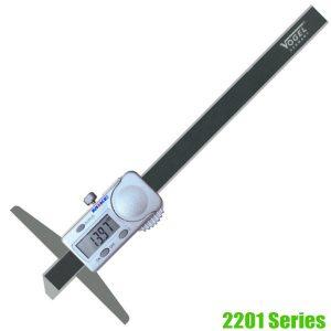 2201 Series Thước đo sâu điện tử, độ chính xác ± 0.01mm, thang đo 150-300mm