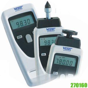 270160 Máy đo tốc độ vòng quay không tiếp xúc, thang đo 1 – 99999 vòng/phút.