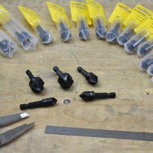 3532 Mũi khoan gỗ khoét góc 90°, đường kính phay 10-20mm, chuôi E6,3