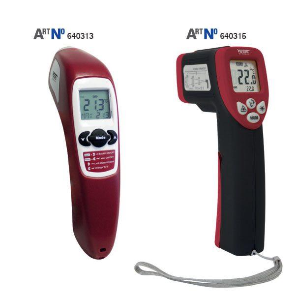 64031 Máy đo nhiệt độ từ xa bằng hồng ngoại, độ chính xác ± 1°C. Sx tại Đức