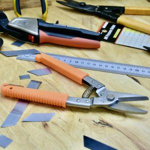 Kéo inox đa năng cắt tôn có độ dày max 0.8mm