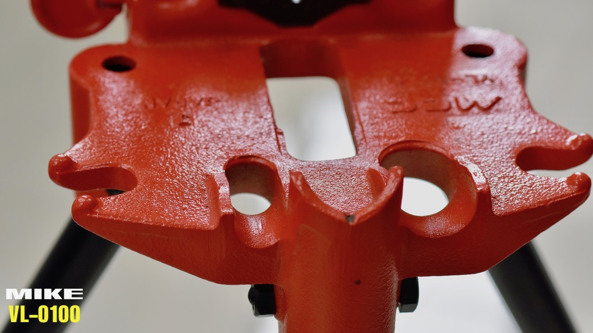 VL-0100 ê tô kẹp ống 3 chân sản xuất tại Nhật Bản
