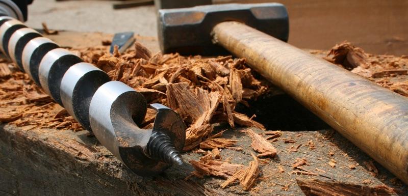 1493 mũi khoan gỗ cứng Auger Bit for hard wood