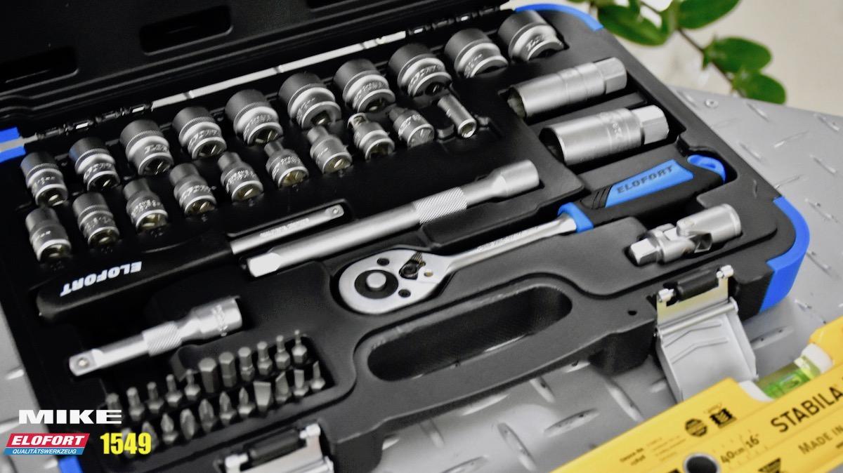 Bộ khẩu 49 chi tiết đa năng ELOFORT Germany.